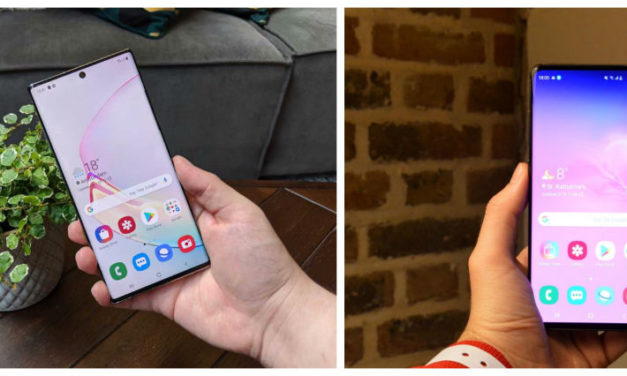 Comparativa Samsung Galaxy Note 10+ vs Samsung Galaxy S10+