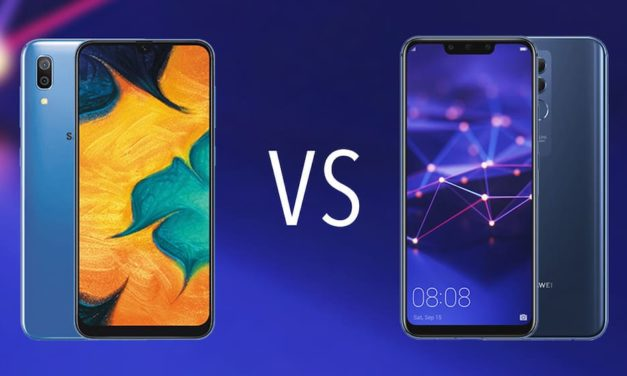 Comparativa Samsung Galaxy A40 vs Huawei Mate 20 Lite
