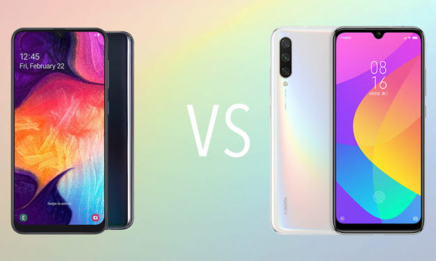 Comparativa Samsung Galaxy A50 vs Xiaomi Mi A3