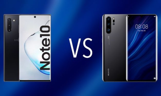 Comparativa Samsung Galaxy Note 10 vs Huawei P30 Pro