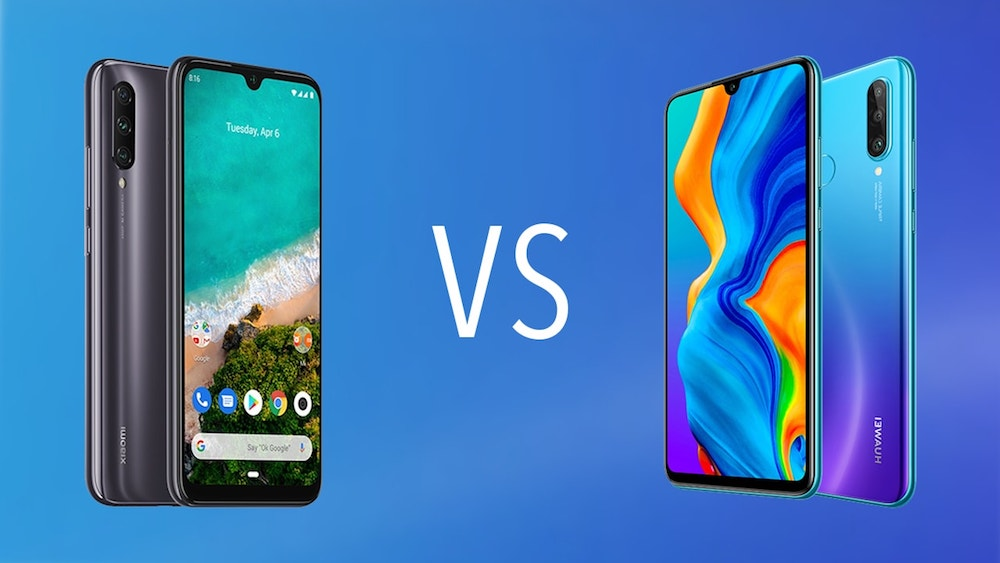 Comparativa Huawei P30 Lite vs Xiaomi Mi A3