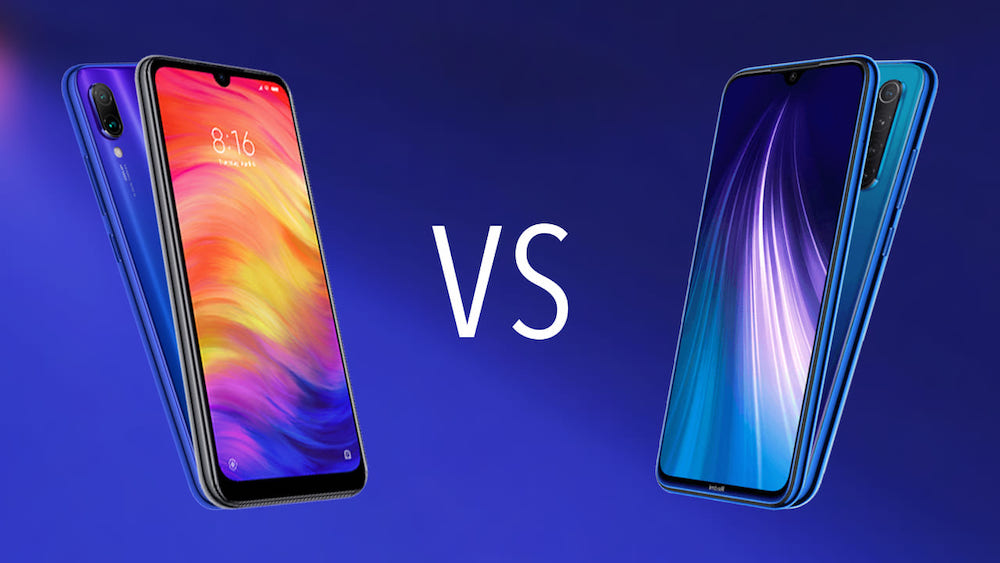 Comparativa Xiaomi Redmi Note 8 vs Xiaomi Redmi Note 7