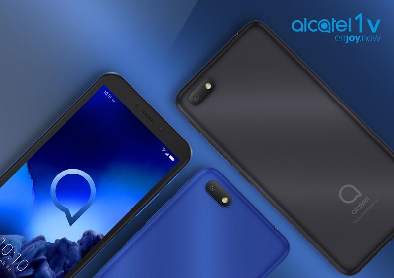Alcatel 1V, Android Go y 5,5 pulgadas por menos de 100 euros