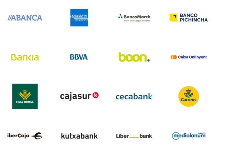bancos compatibles google play