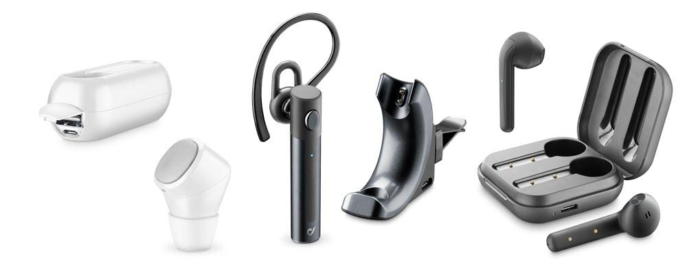 Cellularline renueva su gama de altavoces, auriculares y cargadores inalámbricos 2