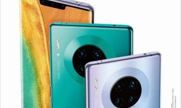 Se filtran las características al completo del Huawei Mate 30 Pro