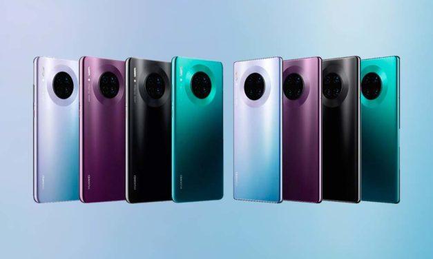 Así es la cámara de los nuevos Huawei Mate 30 y 30 Pro