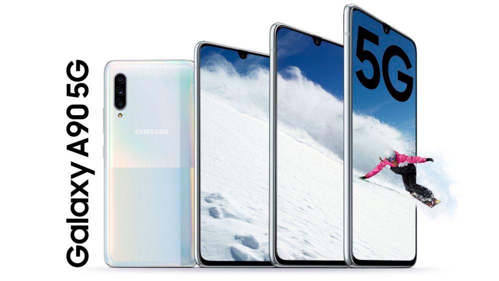 Samsung Galaxy A90, móvil de gama media con 5G y gran autonomía