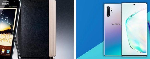 ¿Qué podíamos hacer con el primer Samsung Galaxy Note y qué con el último?