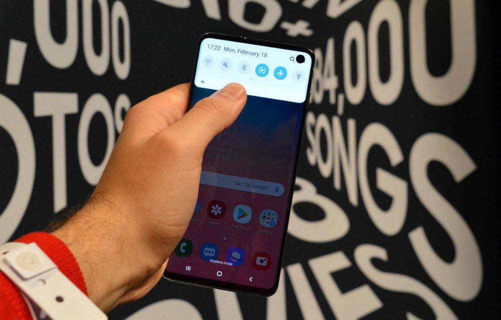 Así podría ser el nuevo lector de huellas del Samsung Galaxy S11