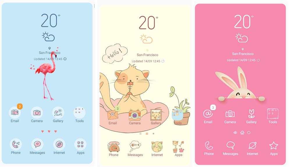 Los 40 mejores temas de Samsung Themes para móviles Samsung Galaxy 5