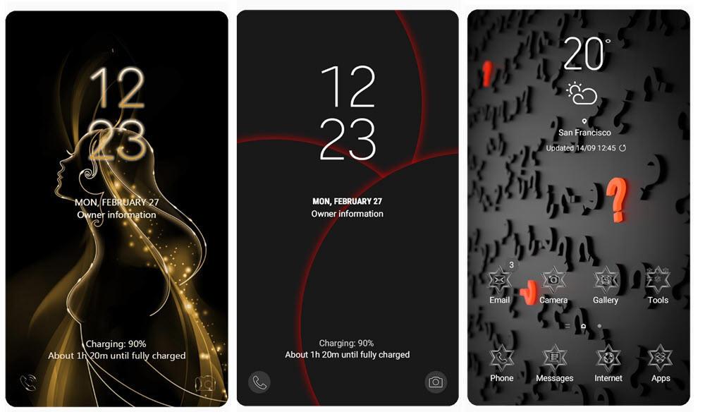 Los 40 mejores temas de Samsung Themes para móviles Samsung Galaxy 8
