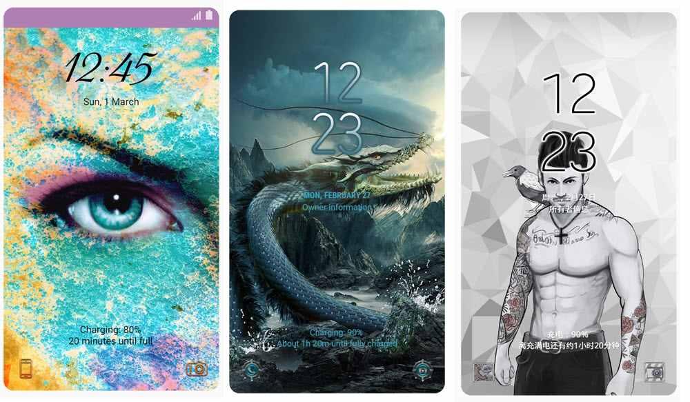 Los 40 mejores temas de Samsung Themes para móviles Samsung Galaxy 3