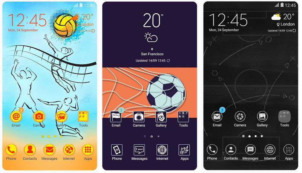 Los 40 mejores temas de Samsung Themes para móviles Samsung Galaxy 6