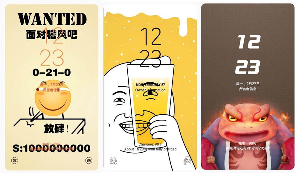themes Samsung emoticones