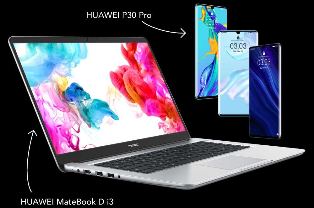 Vodafone regala un portátil al comprar un Huawei P30 Pro