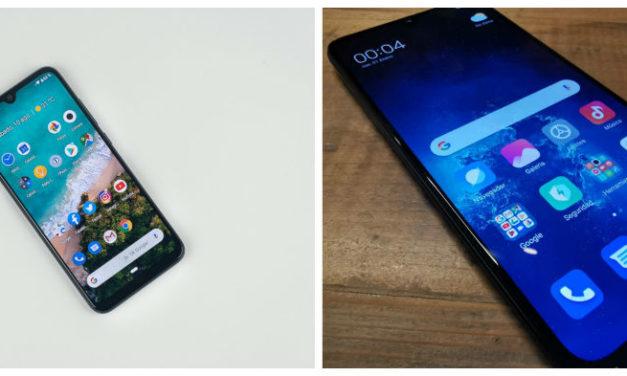 Diferencias entre el Xiaomi Mi A3 y Mi 9 Lite