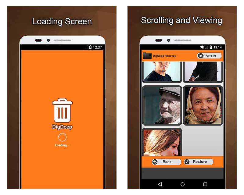 cómo recuperar fotos borradas en tu móvil Android DigDeep