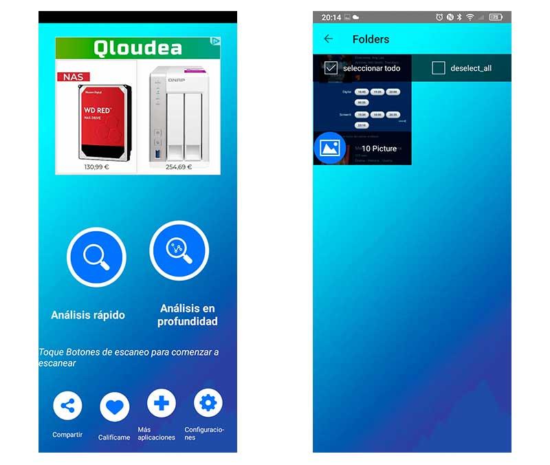 cómo recuperar fotos borradas en tu móvil Android Photo Recovery 2