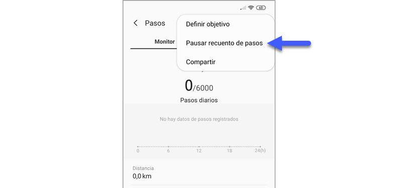 Samsung Health no cuenta bien los pasos: así puedes arreglar el contador 3