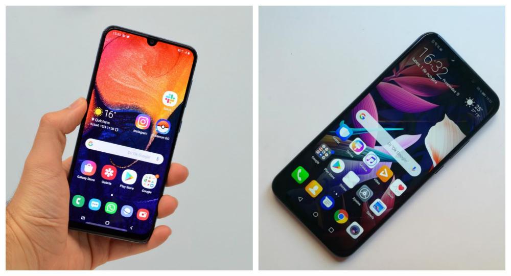 Comparativa Samsung Galaxy A50  vs Huawei Mate 20 Lite: cual me interesa más ahora