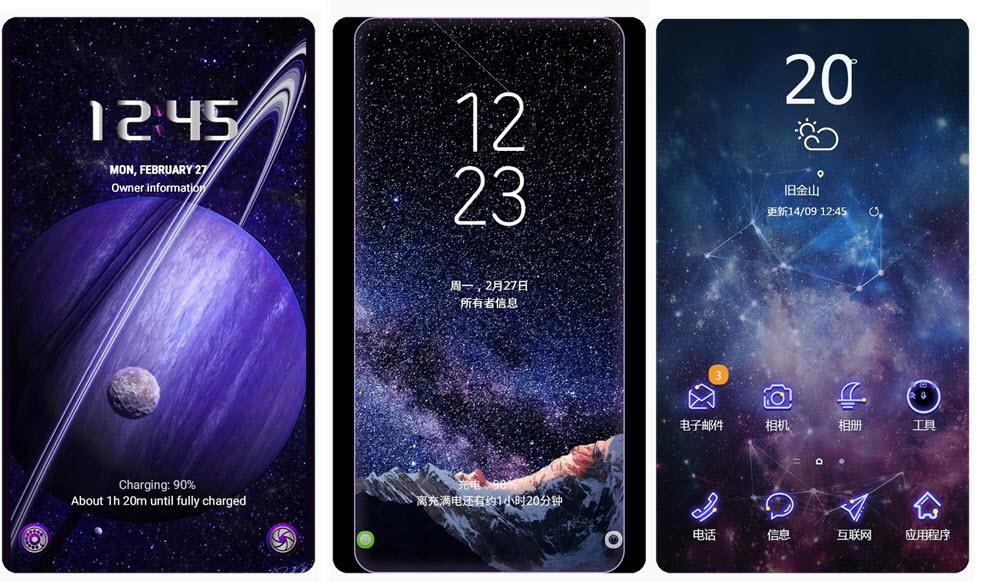Samsung Themes: 70 temas gratis para descargar de la tienda en 2019 3