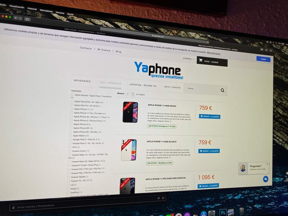 ¿Es fiable comprar en YaPhone?