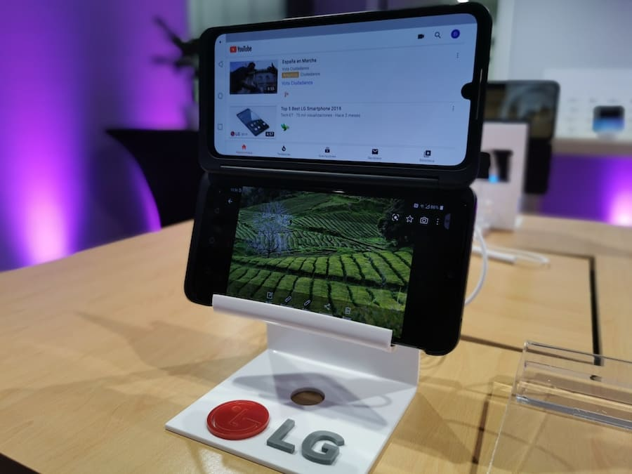 lg g8x thinq dos pantallas 0
