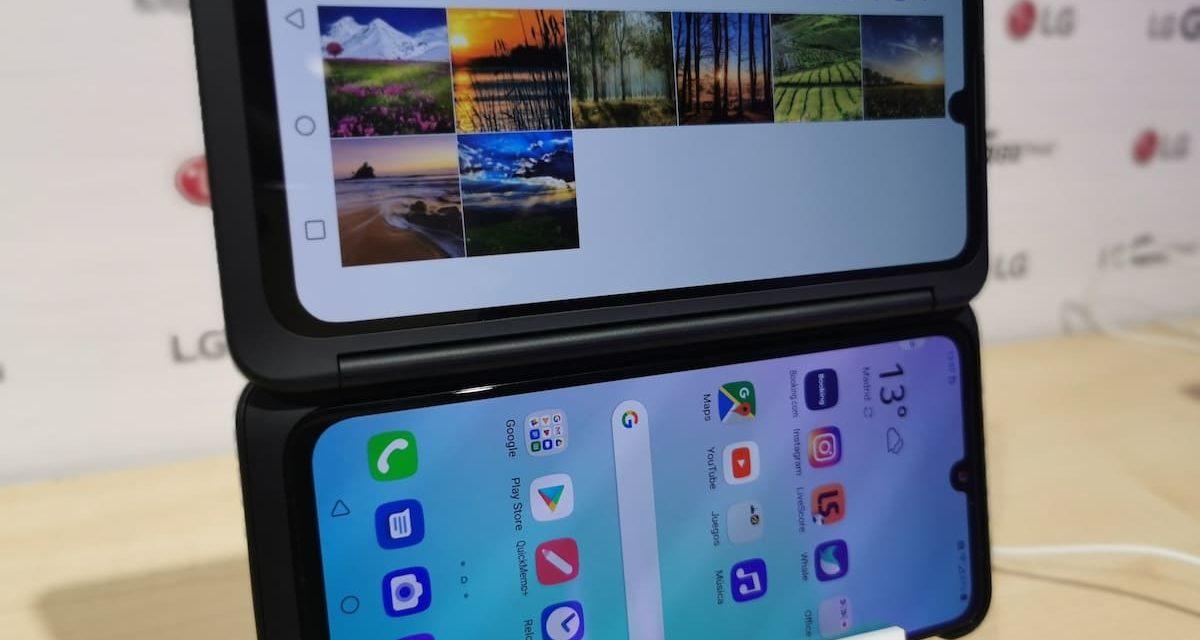 Ya puedes comprar en España el móvil con dos pantallas de LG