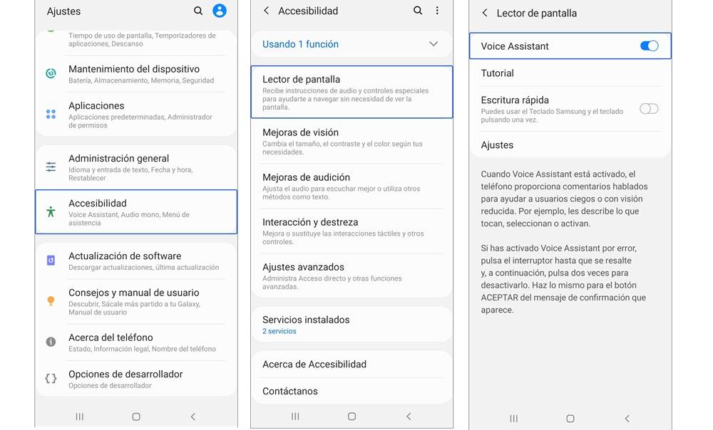 Cómo Desactivar Talkback En Móviles Samsung Para Siempre